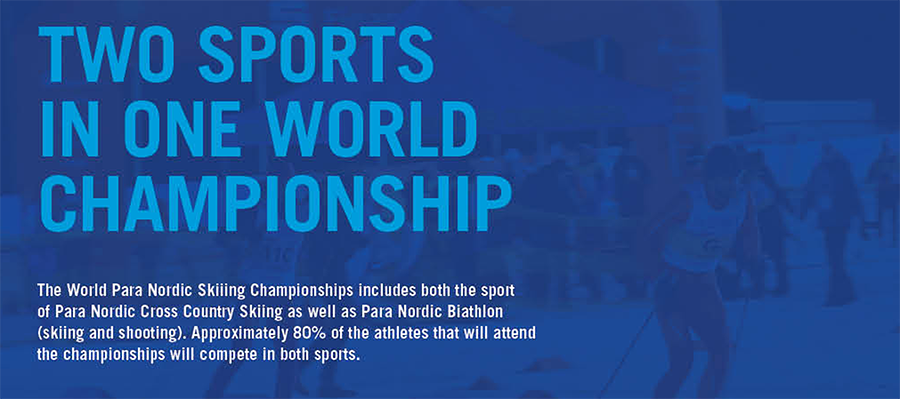 Two sports in one world championship
